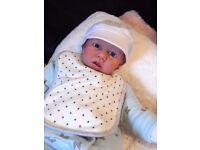 Brand new saskia reborn cuddle baby for sale 22 inches