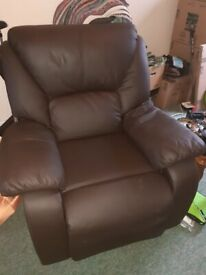 Recliner ... single seater... Brown...USED