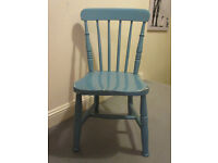 Lovely wooden quality vintage nursing chair
