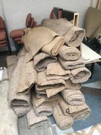 Acoustic Carpet Underlay