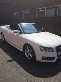 Chauffeur Service | Weddings | Proms | Birthdays | Audi A5 Convertible