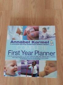 Annabel Karmel Complete First Year Planner Baby Book