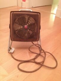 Extremely rare and very collectable Philips vintage fifties fan heater.