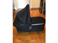 UPPABABY BASSINET CARRYCOT - BLACK - EXCELLENT CONDITION - SW1