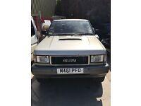 isuzu trooper 3 door no mot spares or repair good engine and gearbox