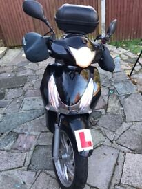 HONDA SH125 with a GPS tracking