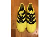 Kids' Adidas football boots size 1