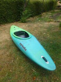 Excellent Acrobat kayak / canoe. Rotomoulded polyethylene