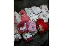 12-18 month girls pyjamas and vests