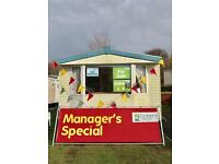 Affordable Caravan Turnberry Holiday Park not Craig Tara not Sandylands not Girvan