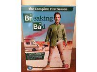 Breaking Bad DVDs, series 1-6.