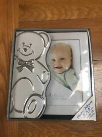 Brand new baby photo frame