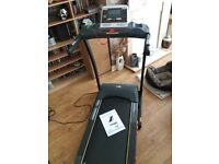Treadmill Electric JLL S300 - auto-incline, 4.5HP motor, up to 16km/hr, inc manual, folding