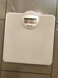 Salter bathroom scales