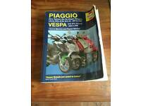 Piaggio scooter haynes workshop manual