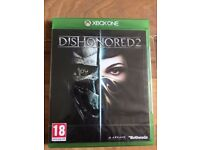 dishonoured 2 (brand new & sealed) , xbox one ! price stands , no offers !
