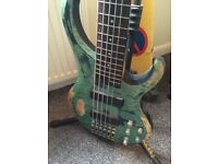 Custom 6bstring bass guitar