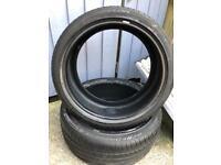 2x low profile tires 225-40-18