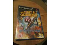 Destroy All Humans Playstation 2 Game