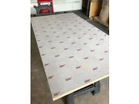 Kitchen Worktop Offcuts - Egger Cosmic White Laminate Breakfast Bar x3 lengths available + Upstands