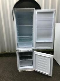 Indesit intergrade fridge freezer white