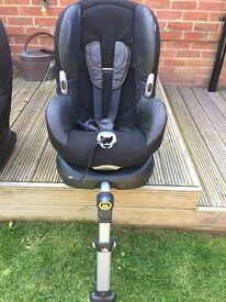 Maxi Cosi Priorifix Isofix Car Seat Group 1-Black