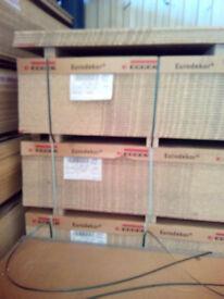 32x Egger Eurodekor MFC Laminated Chipboard panels - Tobacco 15mm - 2800 x 2070