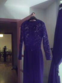 Ladies black sequins playsuit/ jumpsuit