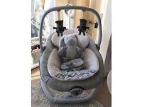 Joie Serina 2 in 1 baby swing rocker chair