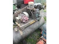 Ingersoll rand type 30 industrial air compressor