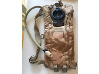 Genuine NEW military issue Camelbak desert hydration system WITH cleaning kit