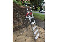 hailo 5 step ladder brand new