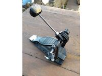 Doulble Chain Flat Plate Bass Drum Pedal