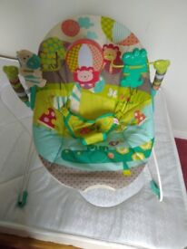Baby bouncer jungle design by bright starts £15 ono