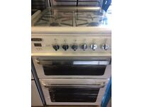 LEISURE FULLY GAS COOKER 60cm DOUBLE OVEN AND GRILL FREE DELIVERY AND WARRANTY