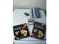 Poker set + chips + playing cards
