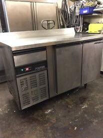 Foster Commercial bench fridge, under counter top table fridge