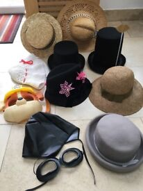Photo Props - Hats - Great for Weddings & Parties - £30 the lot