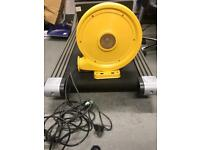 Bouncy castle air pump