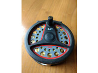 Flyfishing Reel LEEDA LC100 Plus 3 Spare Spools & FlyLines (Reduced price for quick sale)