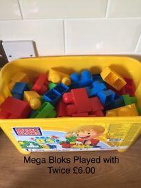 ELC MEGA BLOKS in Excellent Condition