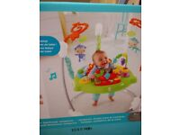 Baby jumperroo rainforest by Fisher Price