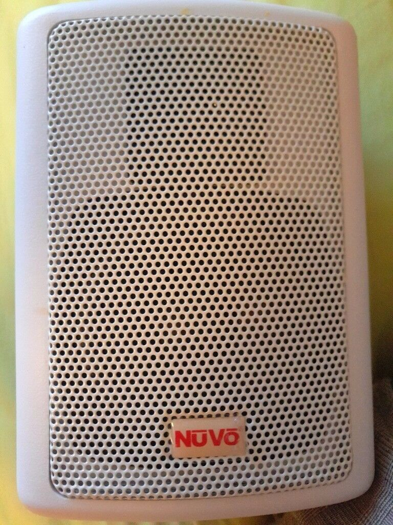 2 x NUVO WA-30SPKR Speaker Speakers 40Watts 4 OHM USA- Wall mounted