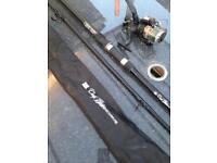 Fishing Rod Carp Hunter With Case and Reel