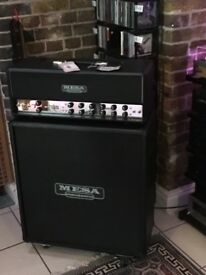 For Sale or Trade Mesa Boogie Stiletto Deuce Stage 2 Amp + 4x12 Cabinet. Good Condition + Receipts.
