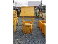 Windmills furniture benched pots and planters in stock