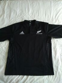All Black Rugby Jersey Size XL