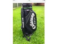 Callaway leather golf bag