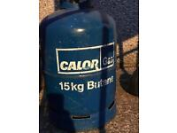 Gas bottle Calor Half full 15kg bottle