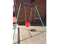Baby garden swings